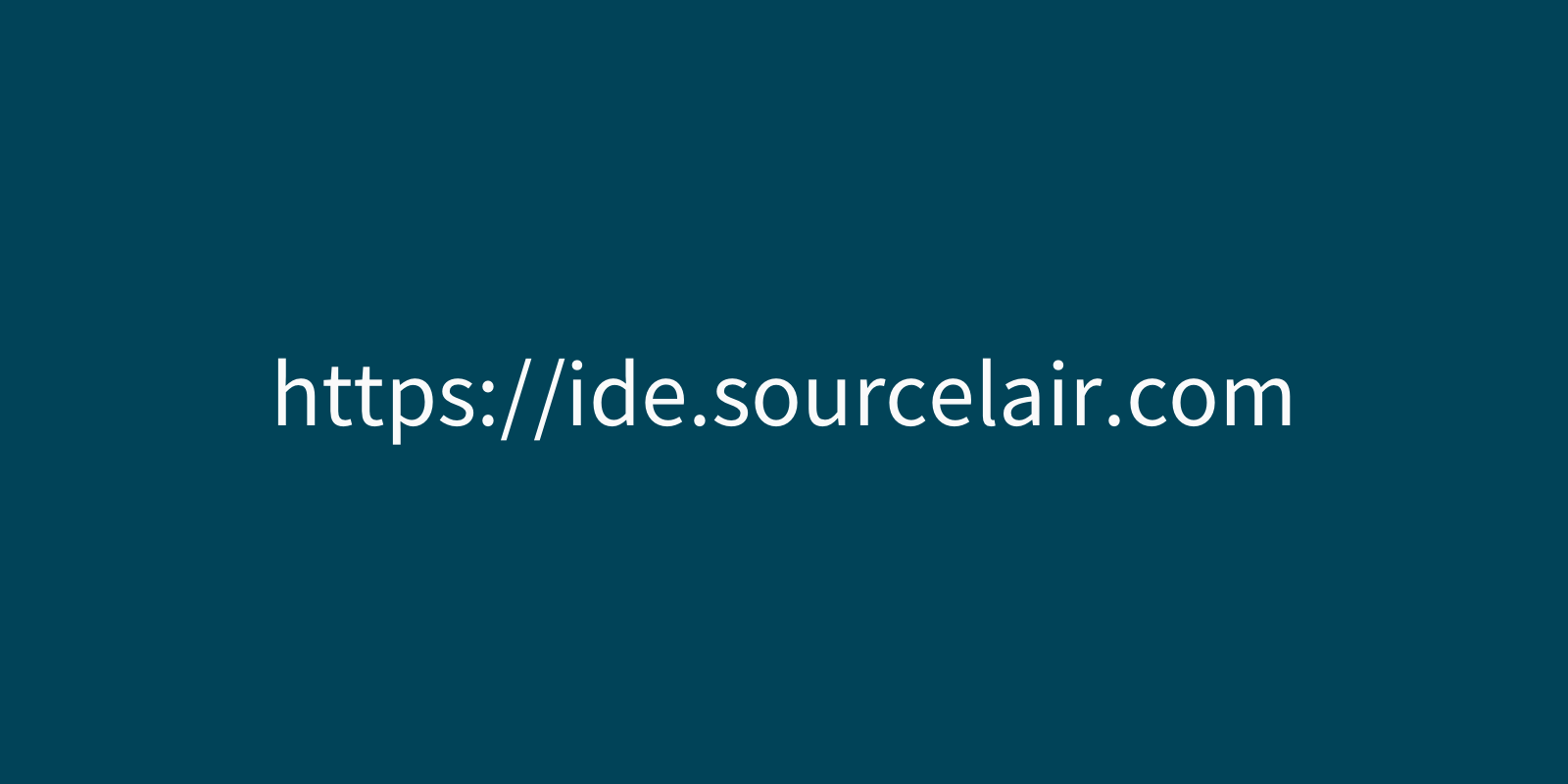 A new domain name for SourceLair IDE and a few updates